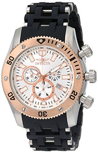 Invicta Men s 10249 Sea Spider Chronograph Silver Dial Watch