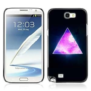 YOYOSHOP [Awesome Hipster Galaxy Triangle] Samsung Galaxy Note 2 Case