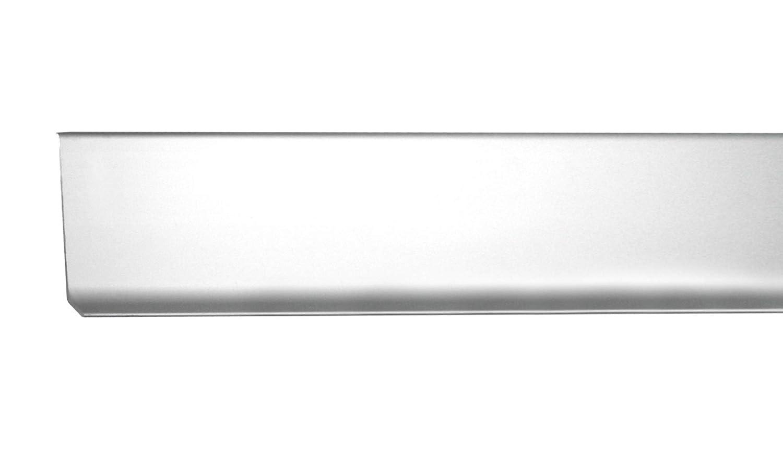 Hö he: 60 mm FUCHS Sockelleiste Linkes Endstü ck Aluminium Eloxiert silber matt Fuchs Design