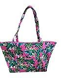 Vera Bradley Miller Travel Tote Bag, Tropical Paradise