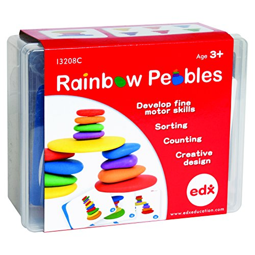 edx Education Rainbow Pebbles - Sorting and Stacking Stones by edxeducation (Image #6)