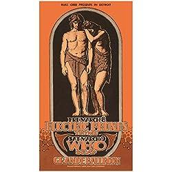 The Who @ Grande Ballroom, Detroit (Grimshaw Posters)