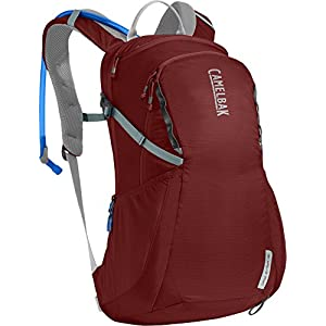 CamelBak Women's Daystar 16 Crux Reservoir Hydration Pack, Red Dhalia/Stone Blue, 2.5 L/85 oz