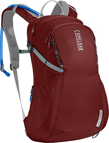 CamelBak Women's Daystar 16 Crux Reservoir Hydration Pack, Red Dhalia/Stone Blue, 2.5 L/85 oz ()