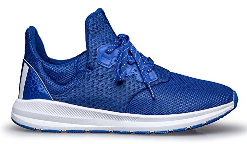 Woosen Mens Shoes Casual Fashion Sneakers Running Shoes Traspiranti Scarpe Da Ginnastica Sportive Blu