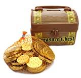 Pirate Treasure Chest Filled With Fort Knox Gold Chocolate Coins From Well Pack Box