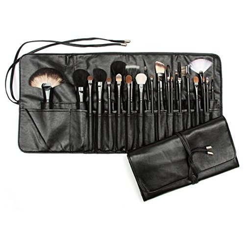 Beauty Pro Series 28 pc Brush Set in Master Case Black , 1 Count by Beauty Pro