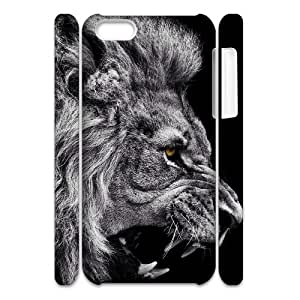 Personality customization Lion Cheap Custom Cell Phone Case for iPhone 5C 386569 At J-15 Cases