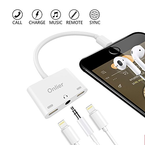 Lightning Headphone Adapter Onlier Splitter