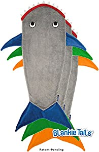 The Original Blankie Tails Shark Blanket (Youth Size)