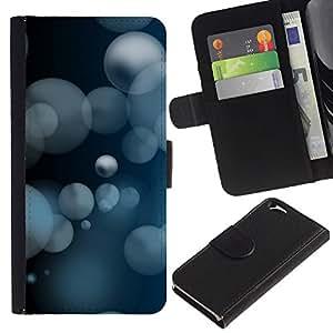 JackGot ( Creativo HD astratto ) Apple (4.7 inches!!!) iPhone 6 / 6S la tarjeta de Crédito Slots PU Funda de cuero Monedero caso cubierta de piel