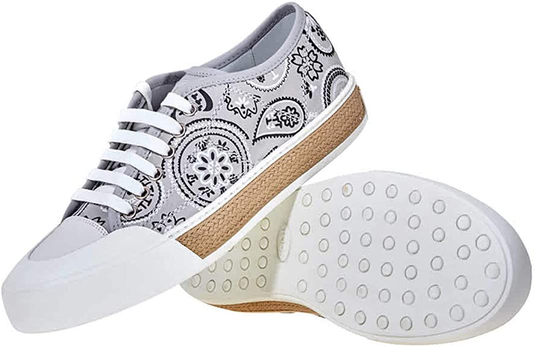 Tod's Womens Canvas Sneakers in Medium