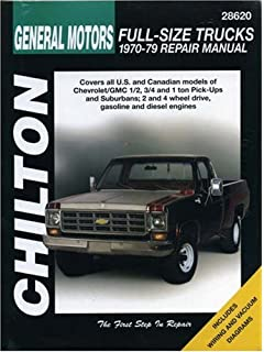 Chevygmc pickups suburbans 1970 87 chiltons repair tune up general motors full size trucks 1970 79 chiltons total car care repair fandeluxe Image collections