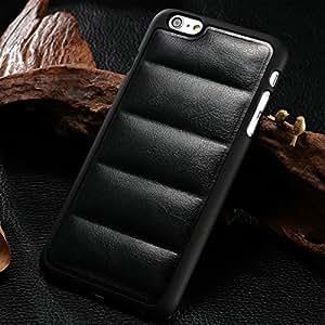 10 pcs/lot Retro PU Leather Back Cover For iPhone 6 Plus 5.5 Inch Sofa Pattern Plastic Case 6 Color Phone Bag Cover Wholesale --- Color:Blue