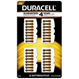 32pc Duracell Easy Tab Size 312 Hearing Aid Battery AC312E V312A B347PA 312HPX