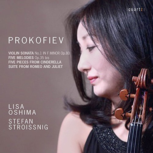Prokofiev: Violin Sonata No. 1, 5 Mélodies & Selections from Cinderella and Romeo & Juliet ()