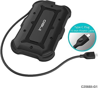 USB 3.1 Gen1 Type C Carcasa para Disco Duro Externo de 2.5 ...
