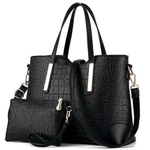 YNIQUE Women Top Handle Satchel Handbags Tote (Drop Handbag)