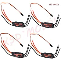 XSD MOEDL 4 Pcs Emax Simonk 20A Brushless ESC Electronic Speed Controller for DJI Flame Wheel F450 Multicopter Quadcopter ESC