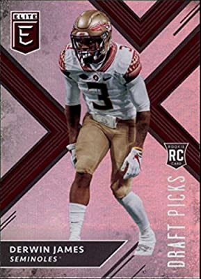 Amazon.com  2018 Panini Elite Draft Picks  129 Derwin James RC ... 6b90d7ad8
