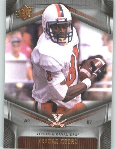 2012 Upper Deck SPx Football Card #23 Herman Moore - Virginia Cavaliers - Detroit Lions - NFL - NCAA Legend