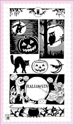 Halloween Horror Night // Clear stamps pack (4