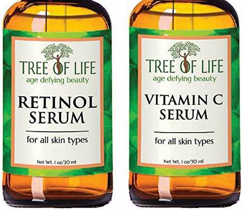 ToLB Anti Aging Serum Two-Pack - 98% Natural, 72% ORGANIC An