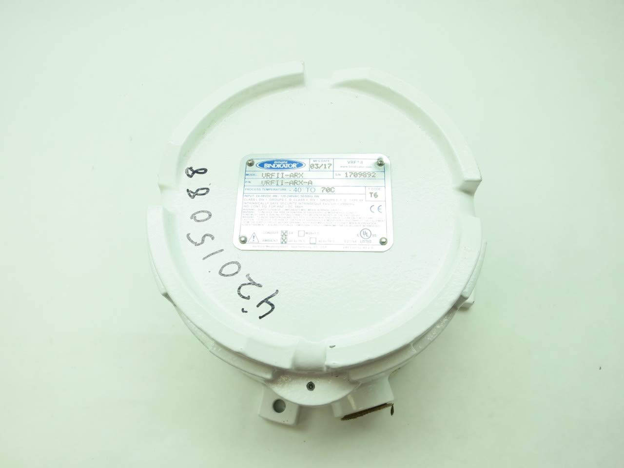 BINDICATOR VRFII-Arx Point Level SENSORS 120-240V-AC D639261: Amazon.com: Industrial & Scientific