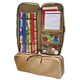 Master Craft Gift Wrap Storage Bag, Tan