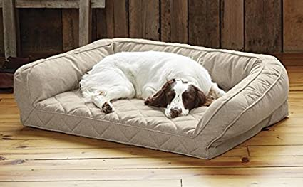 Amazing Amazon Com Orvis Heathered Bolster Dog Bed Cover Large Gmtry Best Dining Table And Chair Ideas Images Gmtryco