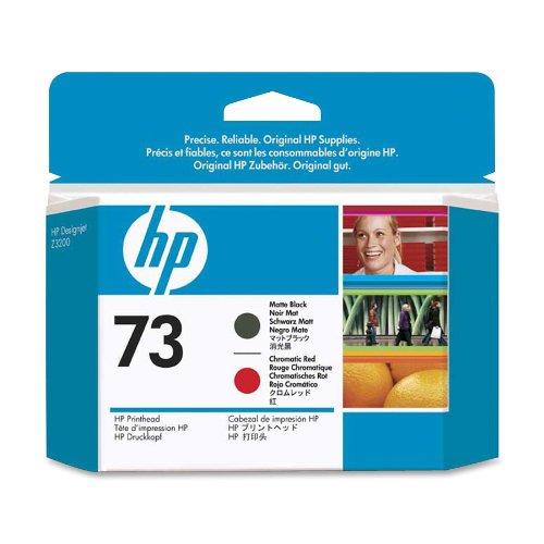HEWCD949A - HP 73 Matte Black and Chromatic Red Printhead