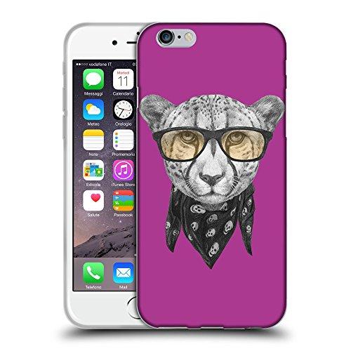 "GoGoMobile Coque de Protection TPU Silicone Case pour // Q05030621 Foulard cheetah byzantin // Apple iPhone 6 PLUS 5.5"""