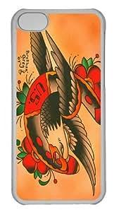Eagle Horseshoe Custom iPhone 5C Case Cover Polycarbonate Transparent
