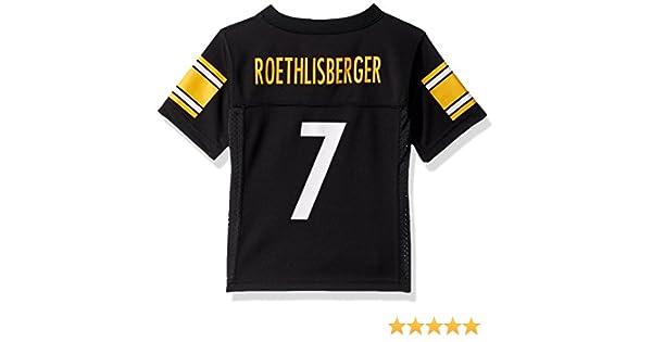 c9c7101d9 Amazon.com   Outerstuff Ben Roethlisberger Pittsburgh Steelers Toddler  Black Jersey   Sports   Outdoors