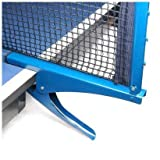 SODIAL(TM) Ping Pong Table Tennis Clamp Post Stand with Net Set
