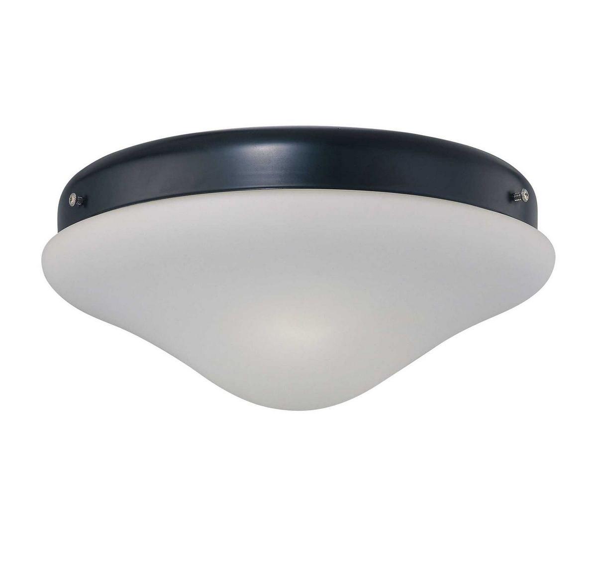 Savoy House FL524-FB Crimson 2-Light Fan-Light in Flat Black