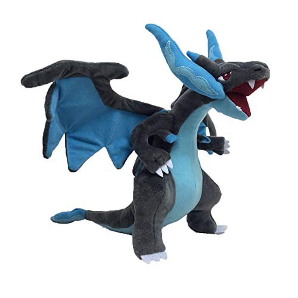 Latim PokemonX Mega Charizard 10'' Anime Animal Stuffed Plush Toys 10'' by Latim
