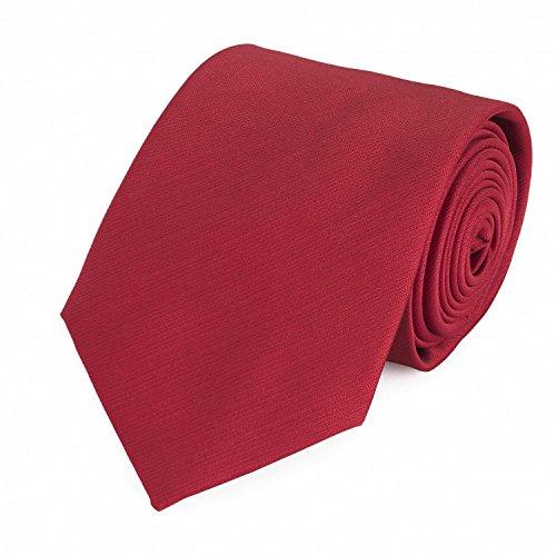 Cravate de Fabio Farini en rouge