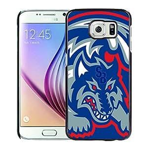 NCAA Stony Brook Seawolves Black Customize Samsung Galaxy S6 G9200 Phone Cover Case