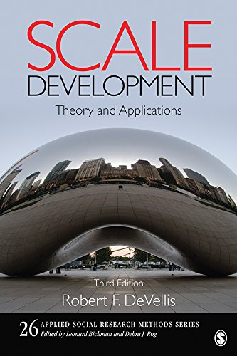 Download Scale Development: Theory and Applications (Applied Social Research Methods) Pdf