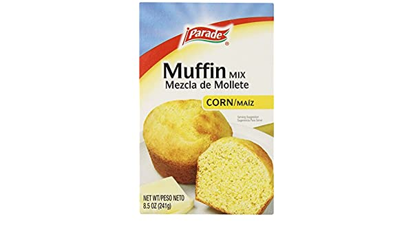 Amazon.com : Parade Corn Muffin Mix, 8.5 Ounce (Pack of 24 ...