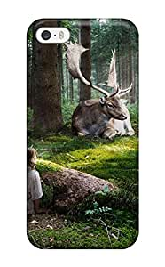 CaseyKBrown Design High Quality Fairytale Forest Cover Case With Excellent Style For Iphone 5/5s