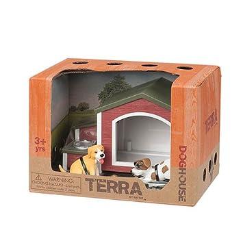 Battat Terra by AN2104Z- Juego de Mascotas para casa de Perro: Amazon.es: Juguetes y juegos