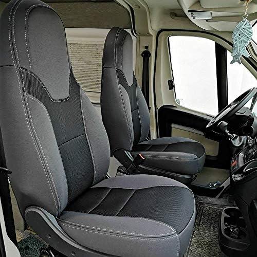Kfoam Es Pack 2 Dubai Premium Sitzbezüge Für Reisemobile Und Vans Camper Fiat Ducato Peugeot Boxer Und Citroën Jumper 2006 Auto