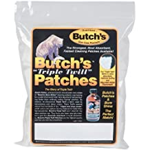 Butch's Twill Cleaning Patches Bag of 1000 (1-1/8-Inch)