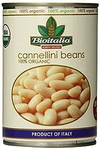 Bioitalia Cannellini Organic Beans, 14 Ounce (Pack of 12)