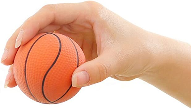 shoolo 6,3 cm de baloncesto, color naranja Ejercicio de muñeca ...