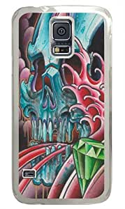 Awakening Too Late Polycarbonate Hard Case Cover for Samsung S5/Samsung Galaxy S5 Transparent