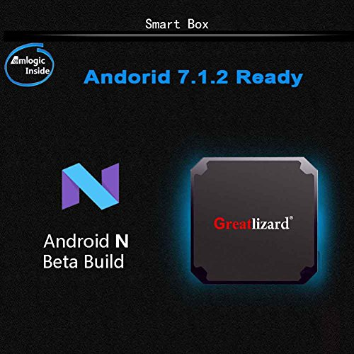 Greatlizard Android 7.1.2 X96 Mini TV Box Quad Core 2.4G Wifi 4K HD Support VP9 HEVC Decoding(2GB Ddr3 + 16GB EMMC) by Greatlizard (Image #4)