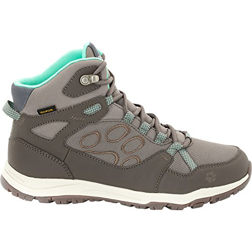 Jack Wolfskin Womens/Ladies Activate Texapore Mid Waterproof Boots Pale Mint